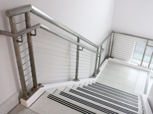Interior Stairs Steel Railing