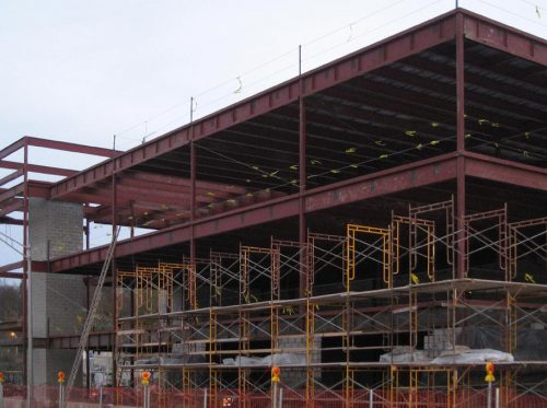 Dutchess County DPW Building Steel Framework