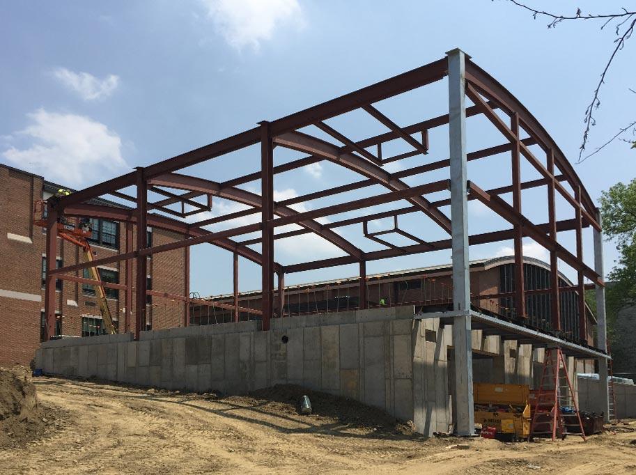 Building Steel Framework