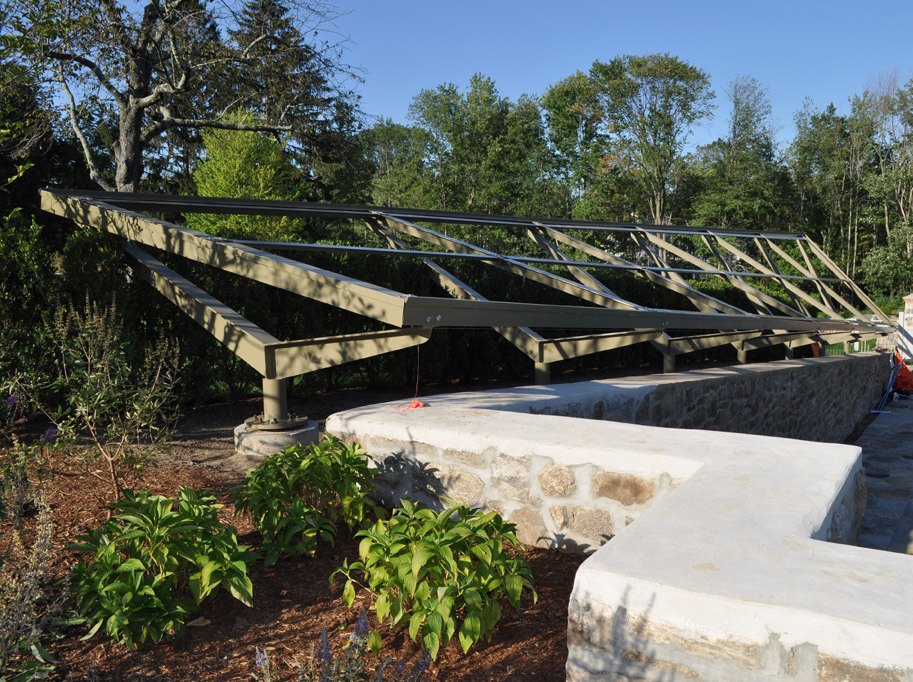Solar Panel Steel Support Frame
